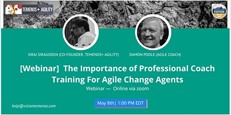 The Importance of Professional Coach Training For Agile Change Agents tickets