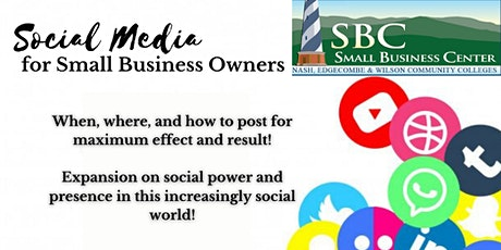 Social Media for Small Business Owners tickets