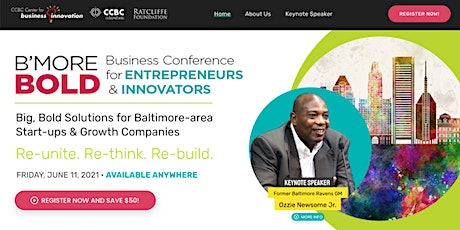 B'more BOLD Business Conference for Entrepreneurs & Innovators tickets