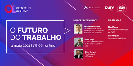"OPEN TALK ACB & RUM ""O Futuro do Trabalho"" tickets"