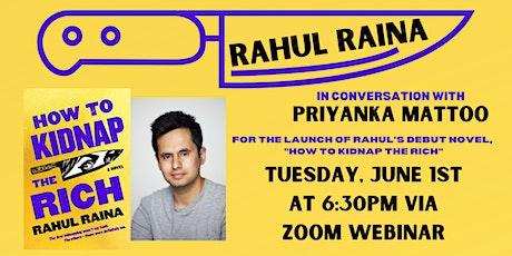 LAUNCH: Rahul Raina  in conversation with Priyanka Mattoo tickets