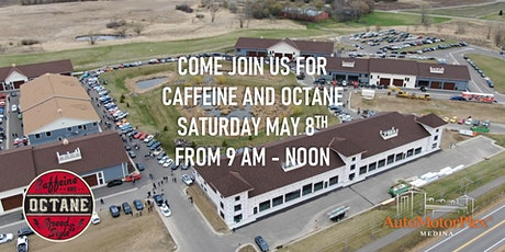 Caffeine and Octane: May 2021 tickets