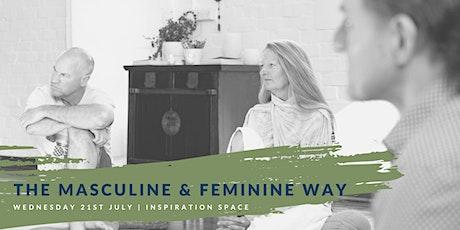 The Masculine & Feminine Way tickets