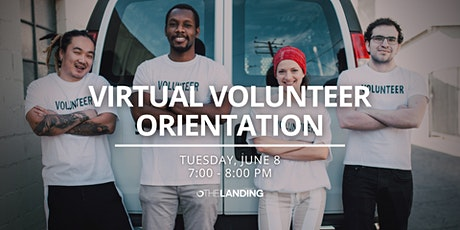 Virtual Volunteer Orientation - June 2021 tickets
