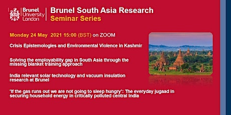 Brunel South Asia Research Seminar Series tickets