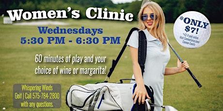 Women's Golf Clinic tickets