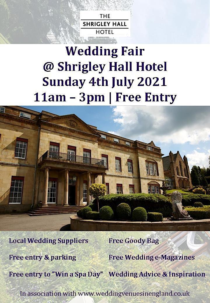 Shrigley Hall Wedding Fair image