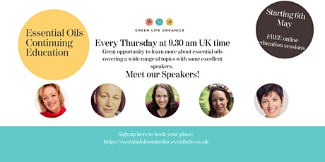 Essential Oils Continuing Education Sessions tickets