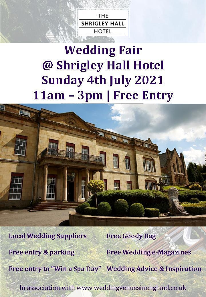 Shrigley Hall Hotel Wedding Fair image
