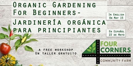 Organic Gardening For Beginners tickets
