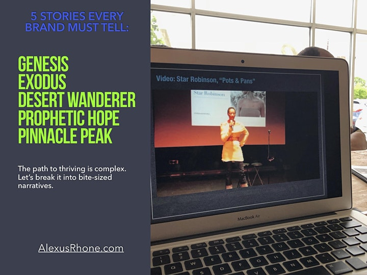 5 Stories Every Brand Must Tell: Intro To Storytelling (7/28) image