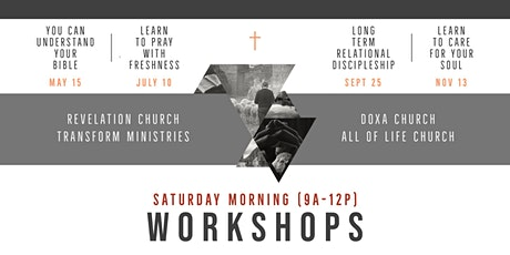 4 Church Workshops - Session 1: You Can Understand Your Bible tickets