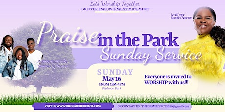 Praise In The Park - Sunday Service tickets