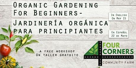 Jardinería Orgánica  Para Principiantes tickets