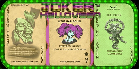 Joker SF Halloween Party Yacht tickets