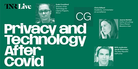 TNR Live: Privacy and Technology After Covid tickets