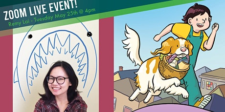 Celebrate a virtual Book Birthday with author Remy Lai,  Pawcasso tickets