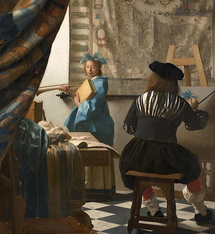 Johannes Vermeer: New Women In New Spaces. image