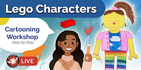 Cartooning Workshop - Step by Step Lesson for Kids (Lego Characters) tickets