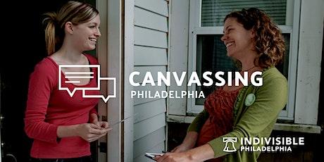 Canvassing in Philadelphia tickets