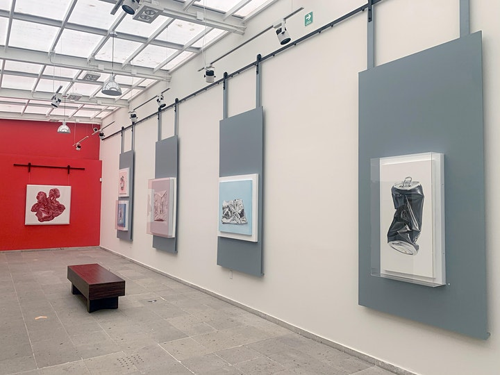 """Exposición """"Saturación de la realidad"""" de la artista Lucía Valencia image"""