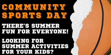 NLARA Community Sports Day 2021 tickets