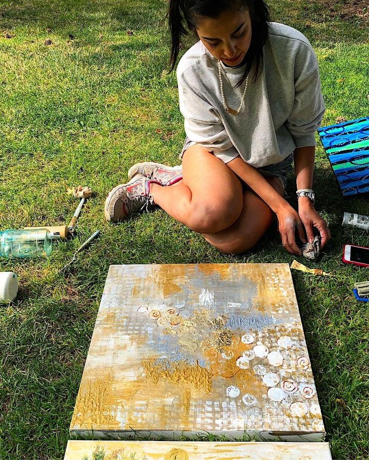 Abstract Healing Art & Picnic image