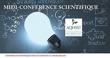 Midi conférence scientifique : Sabrina Gravel tickets