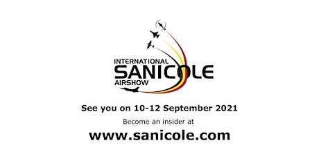 2021 International Sanicole Airshow tickets