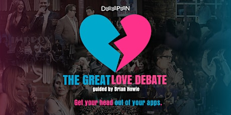#wedeepen at The Great Love Debate tickets