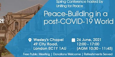 Peace-Building in a post-COVID-19 World tickets