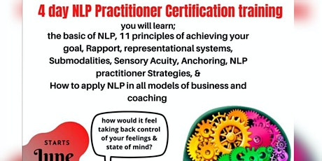 Neurolinguistic Programming Certification entradas
