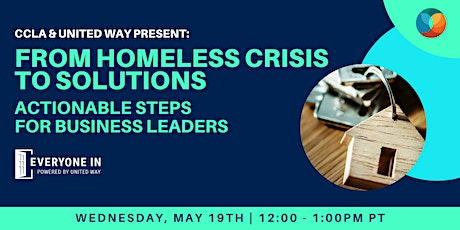 From Homeless Crisis to Solutions: Actionable steps for business leaders tickets