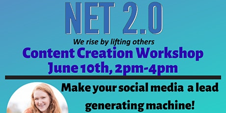 Content Creation Work Shop Tickets