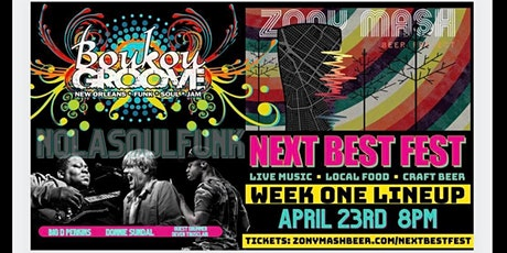 NEXT BEST FEST: Boukou Groove at Zony Mash Beer Project tickets