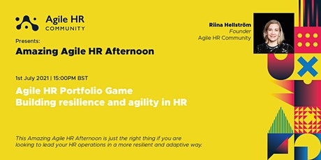 Amazing Agile HR Afternoon - Agile HR Portfolio Game tickets