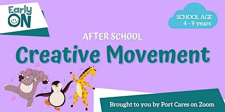 After School Creative Movement: Floor is Lava! tickets
