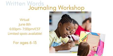 Written Words: Journaling Workshop tickets