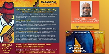 The Game Plan for Better Living Men's Retreat tickets