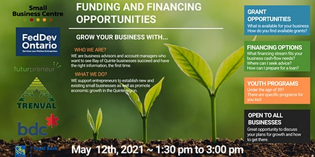 Funding and Financing Opportunities tickets
