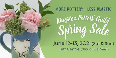 Kingston Potters Guild Spring Sale 2021 tickets