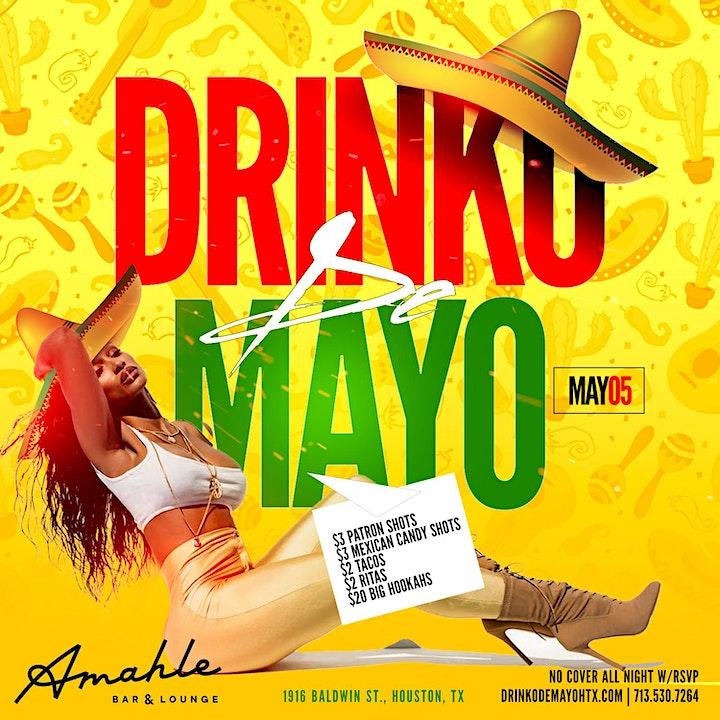 Drinko De Mayo Celebration at Amahle image