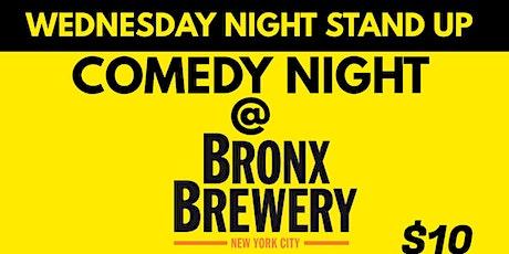 Comedy night @ Bronx Brewery tickets