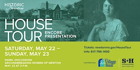 ENCORE PRESENTATION - Historic Newton's 38th Annual House Tour tickets