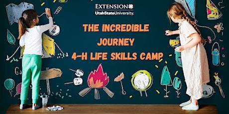 The Incredible Journey 4-H  Life Skills  Camp tickets