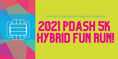 2021 PDASH 5K FUN RUN! tickets