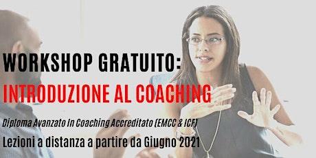 COPIA - Workshop gratuito: Introduzione al Coaching - 10 maggio biglietti