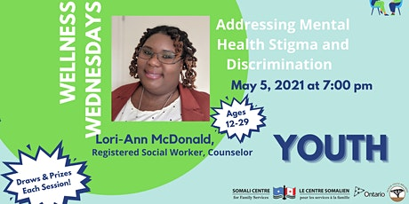 Addressing Mental Health Stigma and Discrimination _ Youth tickets
