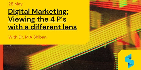 Digital Marketing: Viewing the 4 Ps with a different lens tickets