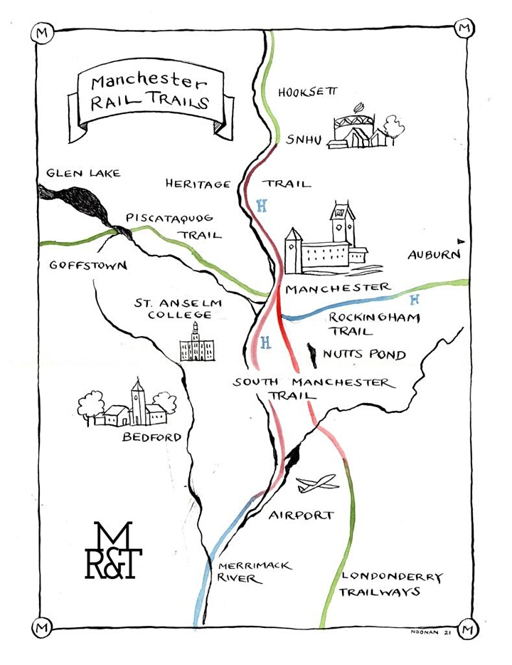 BIKE TALK: Manchester Rail with Trail Project! image